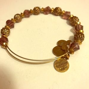 Alex and Ani Disney Mickey Purple Beaded Wrap